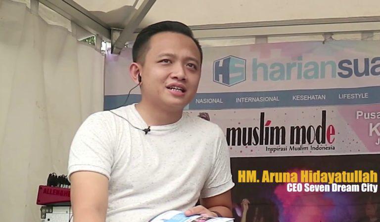 Aruna Hidayatullah, Mantan Anak Band Sukses Kembangkan Seven Dream Group Untuk Kesejahteraan Umat