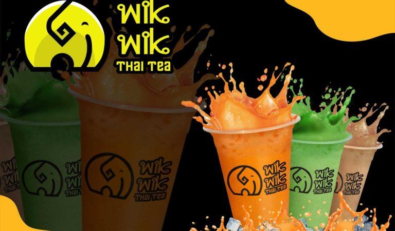 Wik Wik Thai Tea, Minuman Cepat Saji Baru Tawarkan Kemitraan Dengan Profit Besar