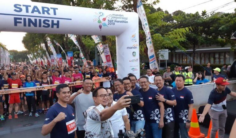 Mandiri Banyuwangi Half Marathon 2019 Kombinasikan Teknologi dan Kearifan Budaya
